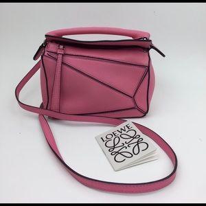 LOEWE Mini Puzzle Leather Crossbody Bag